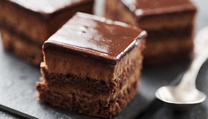 Sjokoladekake med glasur