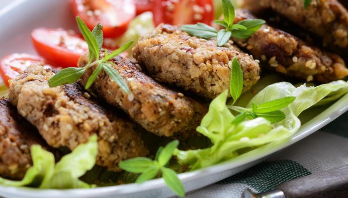 Karbonader med salat