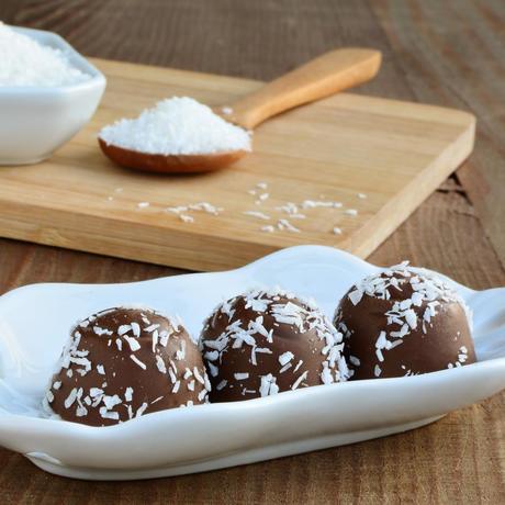 Punchboller med kokosstrø