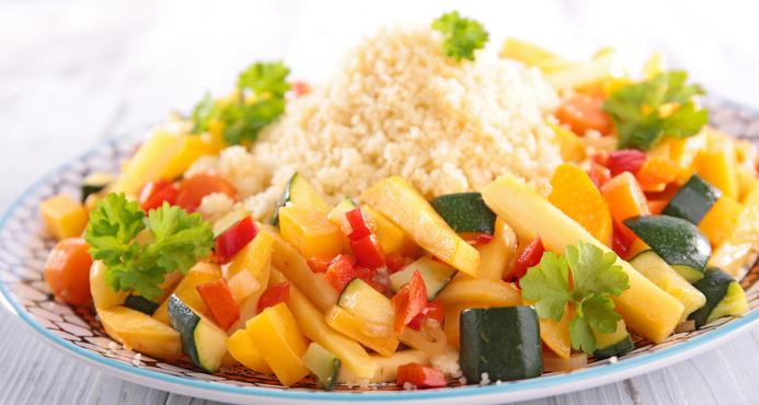 Vegetarisk couscous
