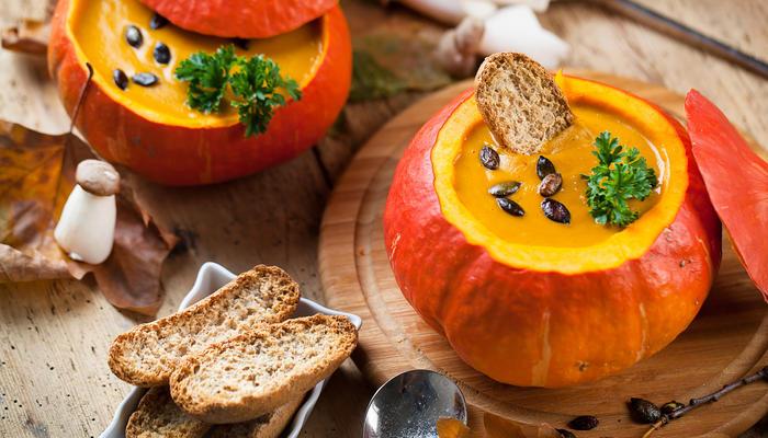 Halloween suppe